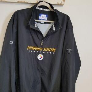 Reebok NFL Equipment Pittsburgh Steelers jacket L